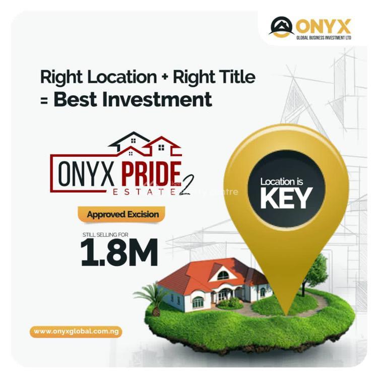Land, Onyx Pride Estate 2, Ibeju Lekki, Lagos, Mixed-use Land for Sale