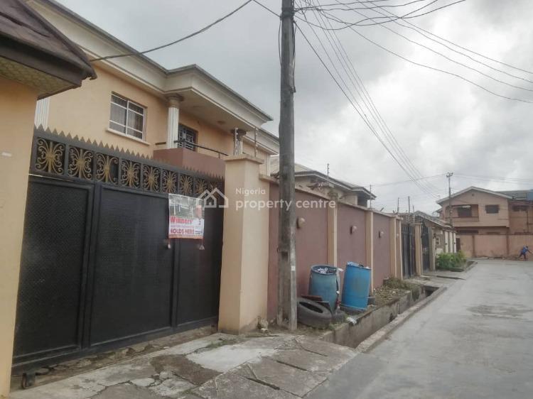 Block of 4 Nos 3 Bedrooms Flats, Gra Scheme 1 Estate, Oko-oba, Agege, Lagos, Block of Flats for Sale