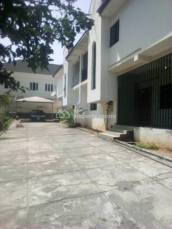 Spacious 4 Bedroom Twin Duplex, 2 Units, Monrovia Street, Wuse 2, Abuja, Semi-detached Duplex for Rent