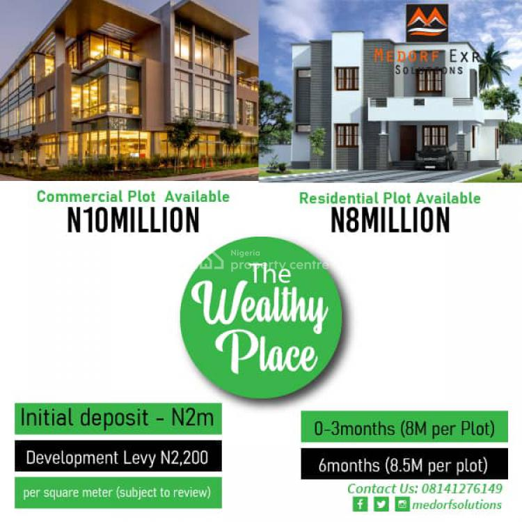 Land, The Wealthy Place, Ibeju Lekki, Lagos, Mixed-use Land for Sale