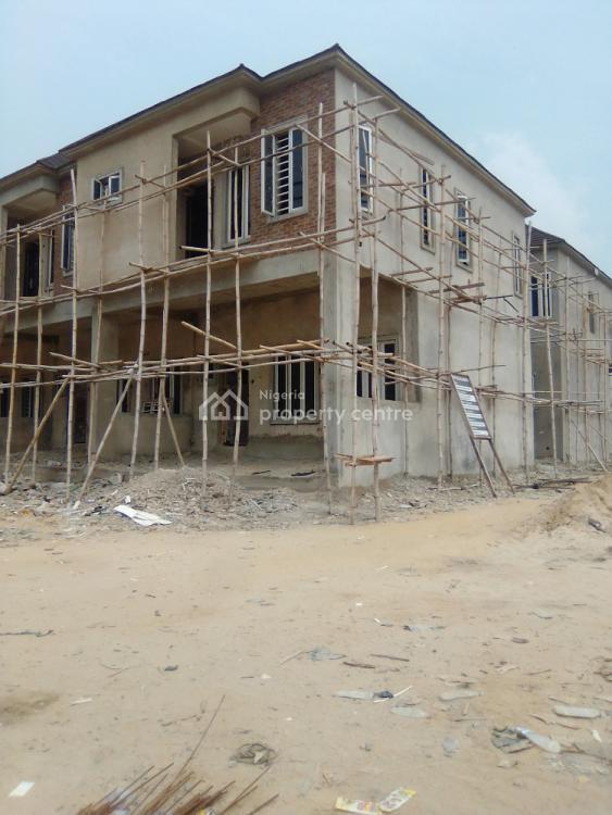 4 Bedroom Terrace Duplex in a Mini  Estate, 2nd Toll Gate, Lekki Phase 2, Lekki, Lagos, Terraced Duplex for Sale