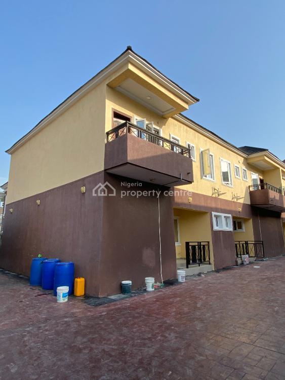Well Built 3 Bedroom Terrace Duplex with B.q, Idado, Lekki, Lagos, Terraced Duplex for Rent