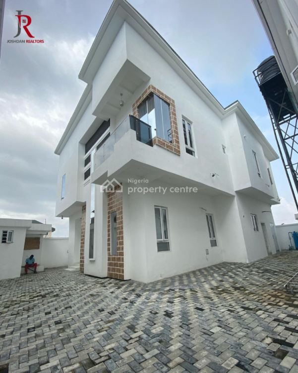 5 Bedroom Fully Detached House with Bq, Osapa, Lekki, Lagos, Detached Duplex for Sale