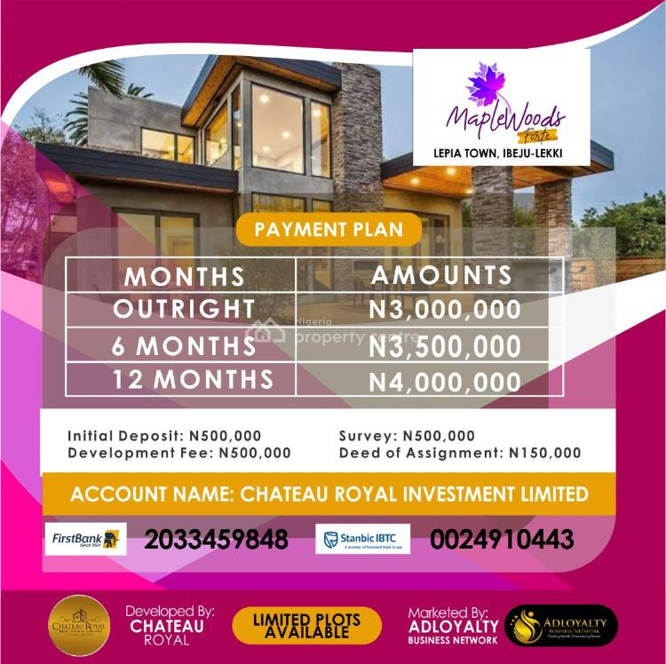 Land, Lepia Town, Maplewoods Forte, Ibeju Lekki, Lagos, Mixed-use Land for Sale