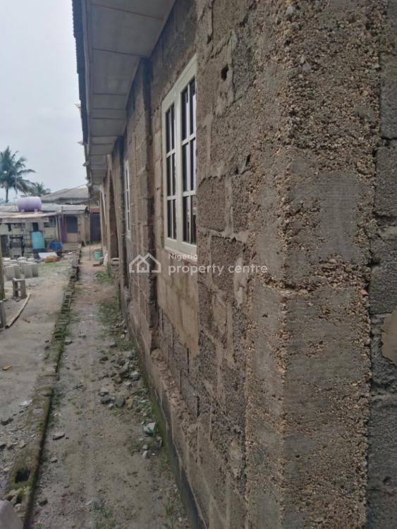 4 Units 2 Bedroom Flats, Off Casso Bus-stop, Ikola, Alagbado, Ifako-ijaiye, Lagos, Detached Bungalow for Sale