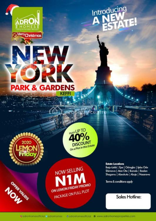 Land, Adron Homes Estate Less Than 2 Min Drive From Maloney Fm, Directly Opp El-kabir Estate, Keffi, Nasarawa, Mixed-use Land for Sale