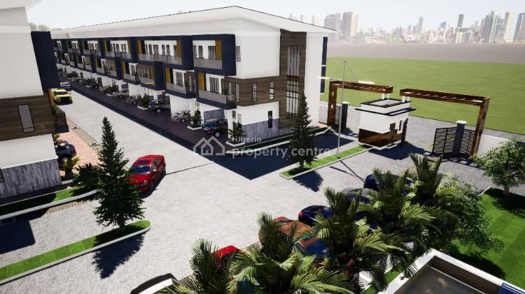 Impeccable Great Ambience 4 Bedrooms Terraced Home with Best Plan, Opposite Nicon Town, After New Blenco Supermarket, Lekki Phase 1, Lekki, Lagos, Terraced Duplex for Sale