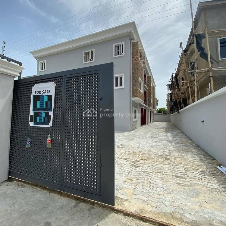 Three Units of 4 Bedrooms Terraced Duplex with a Lot of Space, Ikate, Ikate Elegushi, Lekki, Lagos, Terraced Duplex for Sale