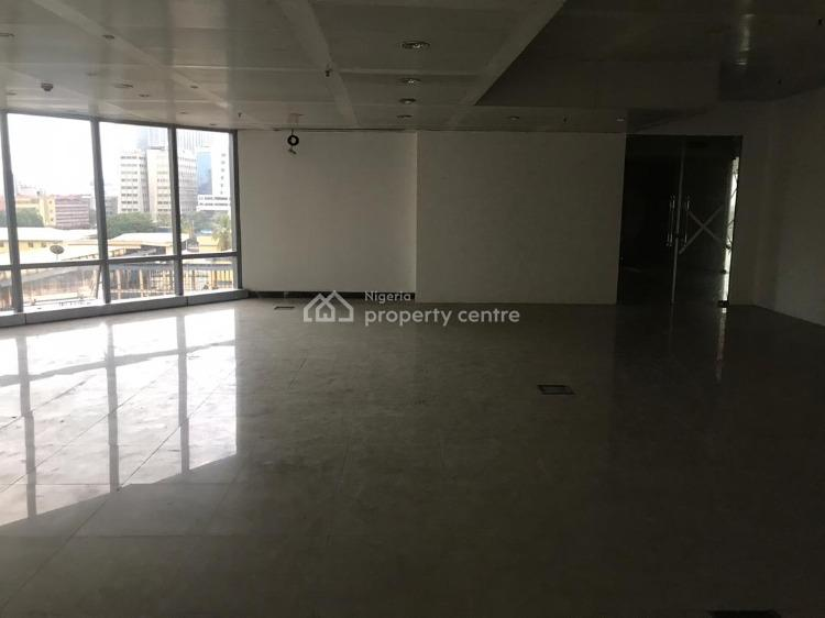 Open Plan Office Space of 110 Sqm-1000 Sqm Available, Churchgate Street, Victoria Island (vi), Lagos, Office Space for Rent