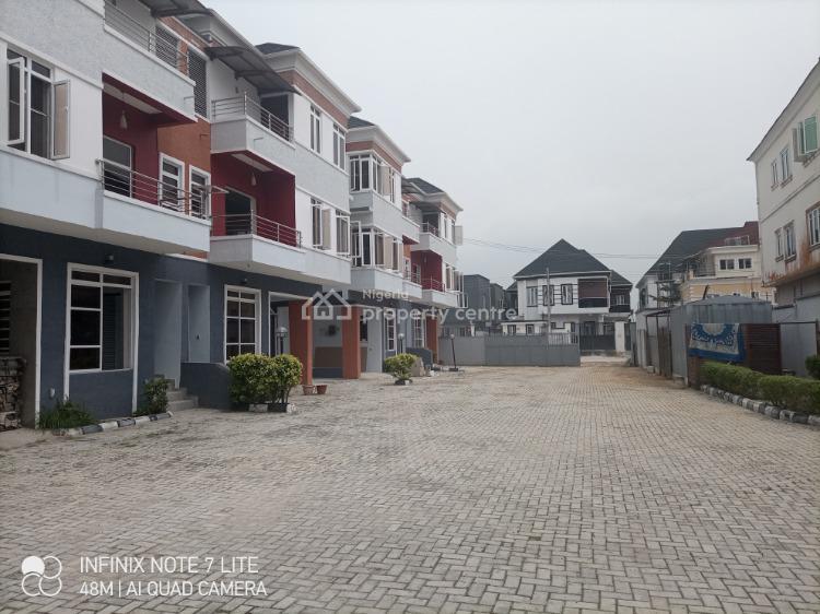 Luxury 4 Bedroom Duplex, Ikota Villa Estate Beside Mega Chicken, Lekki, Lagos, Terraced Duplex for Sale