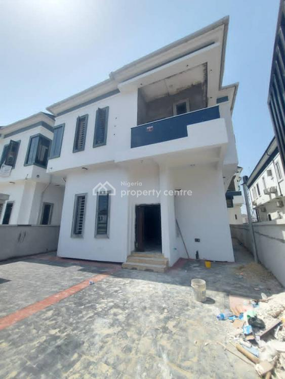 Exquisitely Finished 4 Bedroom Fully Detached Duplex with a Room Bq, Chevron, Lekki, Lagos, Detached Duplex for Sale