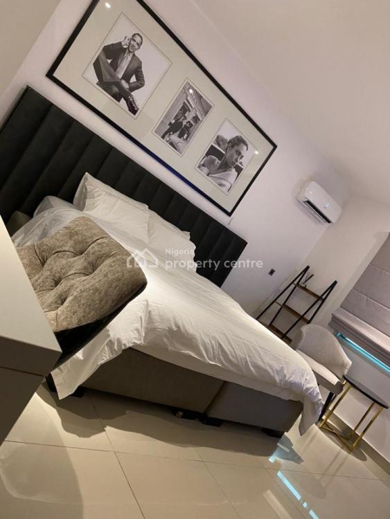 Modern and Chic 2 Bedroom Maisonette with Private Balcony, Richmond Gate Estate, Ikate Elegushi, Lekki, Lagos, House Short Let