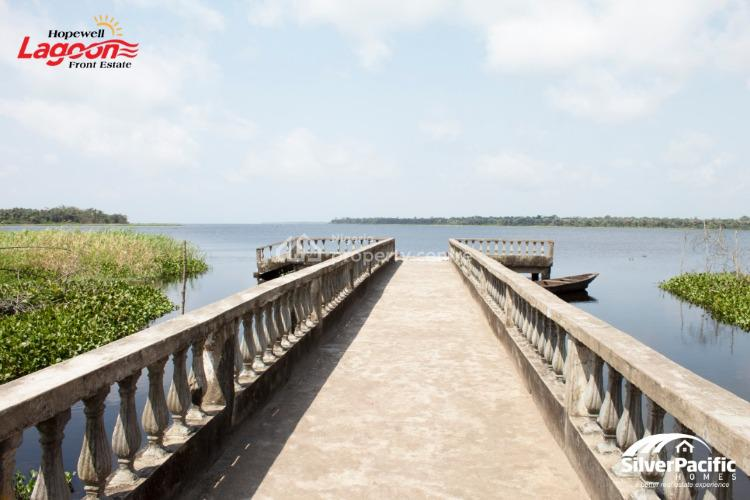 an Estate with a Lagoon Front, Lepia, Ibeju Lekki, Lagos, Mixed-use Land for Sale