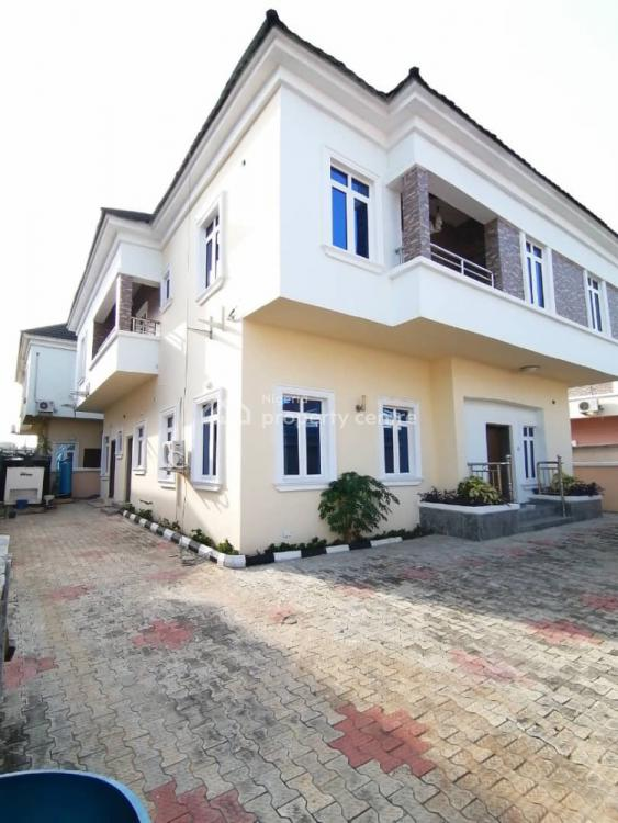 Newly Built 5 Bedroom Detached Duplex Finished + Bq Room, Chevron, Lekki, Lagos, Detached Duplex for Sale