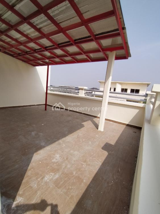 Brand New 4 Bedrooms with Bq and Open Penthouse Floor, Atlantic View Estate, New Road, Igbo Efon, Lekki, Lagos, Semi-detached Duplex for Sale