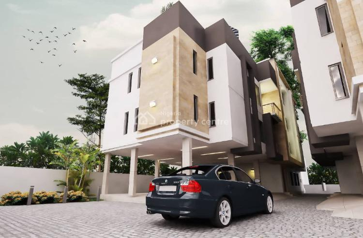 Contemporary Built, Luxury Serviced 3 Bedrooms Pent House Apartment, Lekki, Lagos, Block of Flats for Sale