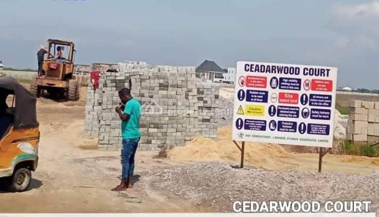 Residential Plots of Land, Cedarwood Court, Sangotedo Town, Eti-osa L. G. a, Ajah, Lagos, Residential Land for Sale