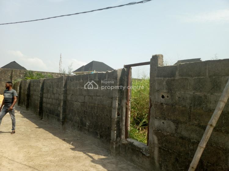 Full Plot of Dry Land Fenced Round with Gate, Title: C of O, First Unity Estate, Badore Road, Ajah, Lagos, Land for Sale