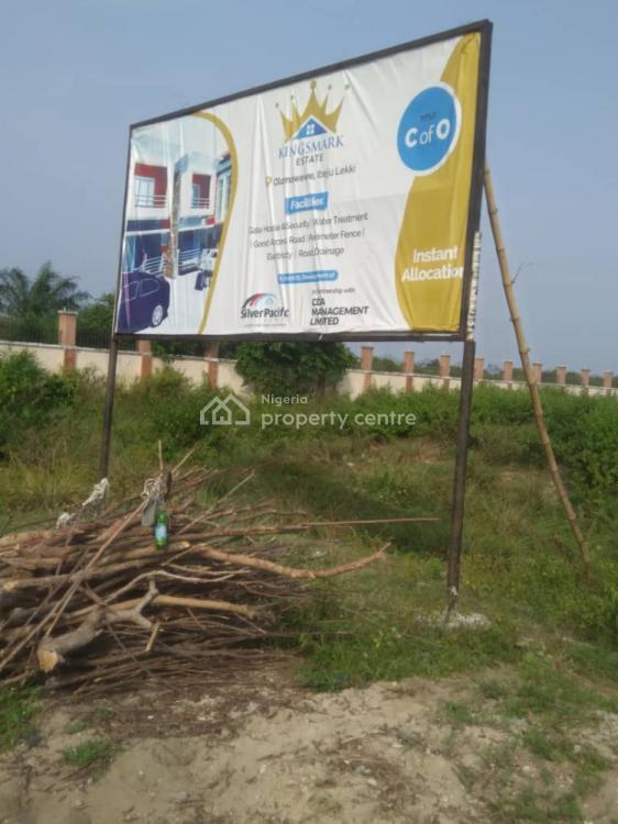 Land, Title: C of O, Kings Mark Estate, Olomowewe, Ibeju, Lagos, Land for Sale
