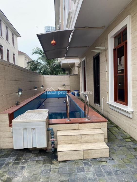 Nicely Built 4 Bedrooms Semi Detached Duplex with a Semi Pool, Ikoyi, Lagos, Semi-detached Duplex for Sale