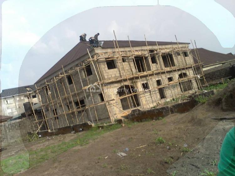 4 Units of 2-bedroom Flats (carcass), United Estate, Sangotedo, Ajah, Lagos, Block of Flats for Sale