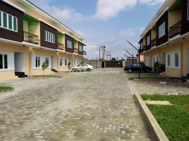 Luxury 3 Bedroom Duplex with Executive Facilities, Monastery Road By Shop Rite, Sangotedo, Ajah, Lagos, Terraced Duplex for Rent