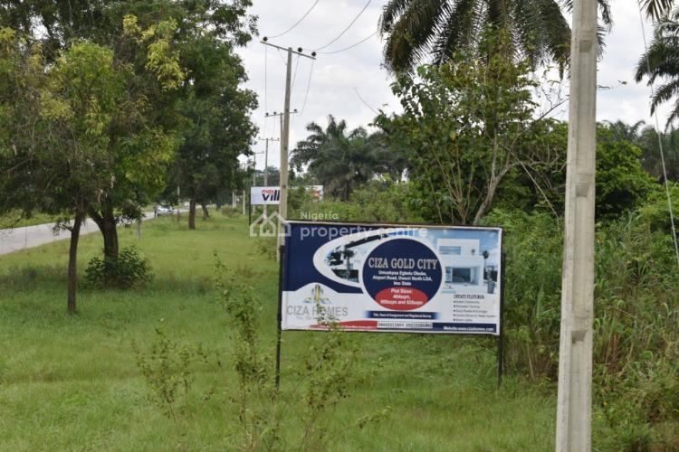 Cheap (affordable) and Secured Land Facing The Express, Umuopkaa Egbelu Obube, Airport Road, Owerri, Imo, Mixed-use Land for Sale