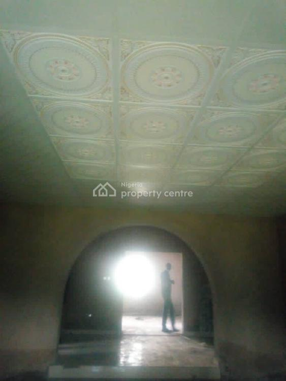 Partly Completed 4 Bedroom Bungalow, with 2 Living Rooms, Alafara, Ajumose Estate, Ibadan, Oyo, Flat for Sale
