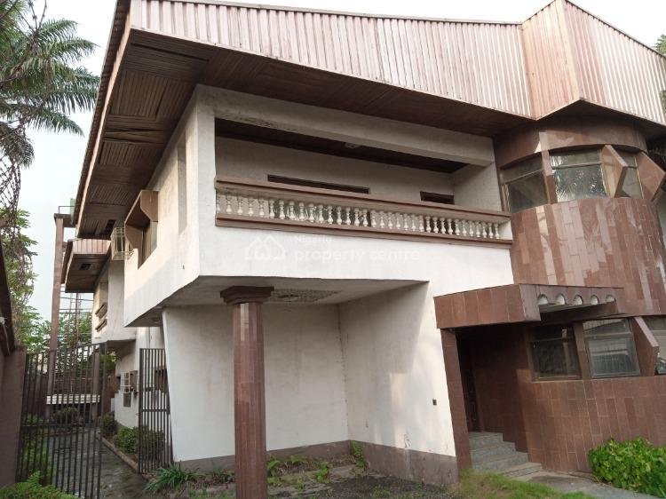 Luxury 7 Bedroom  Detached Duplex, 2 Plots on Cornepiece, C of O, Distress, Ajao Estate, Isolo, Lagos, Detached Duplex for Sale
