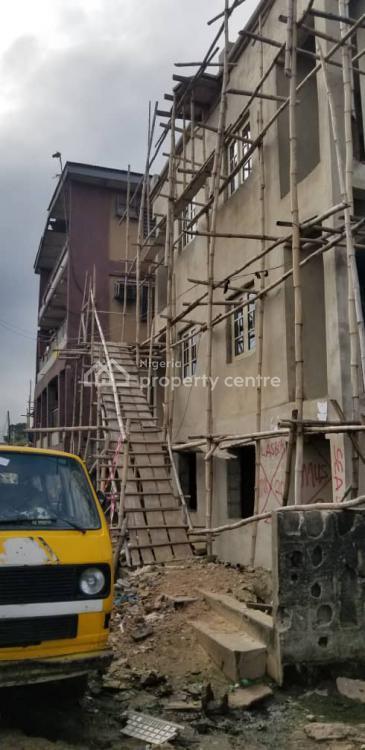 Landed Property with Carcass 2 Storey Block of Flats, Behind Lagos University Teaching Hospital, Idi Araba, Surulere, Lagos, Block of Flats for Sale