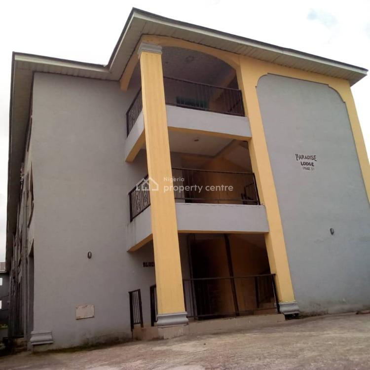 Two Storey Building That Has 120 Rooms of Self Conta at Good Location, Back of Stadium at Michael Okpara University of Agriculture Umudike, Ikwuano, Abia, Hostel for Sale
