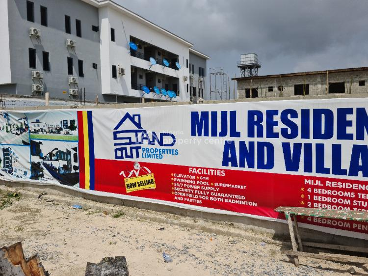 Upscale 2 Bedroom Terrace Duplex with Flexible Payment Option, Salem Bustop, After Ikate, Nicon Town, Lekki, Lagos, Terraced Duplex for Sale