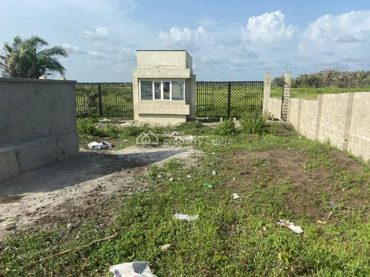 Magnificent Beachfront Govt Gazette Fenced Land, Off Eleko Road, Few Minutes Drive From Eleko Beach, Eleko, Ibeju Lekki, Lagos, Residential Land for Sale