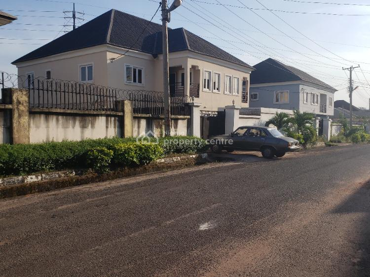 Semi-detached 4 Bedroom Twin Duplexes with Separate Compound, Fidelity Estate Phase 2 Off Garden Avenue Towards Shoprite Mall, Enugu, Enugu, Detached Duplex for Sale