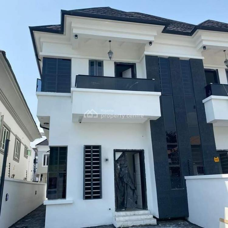 5 Bedroom Semi Detached Duplex, Osapa, Lekki, Lagos, Semi-detached Duplex for Sale