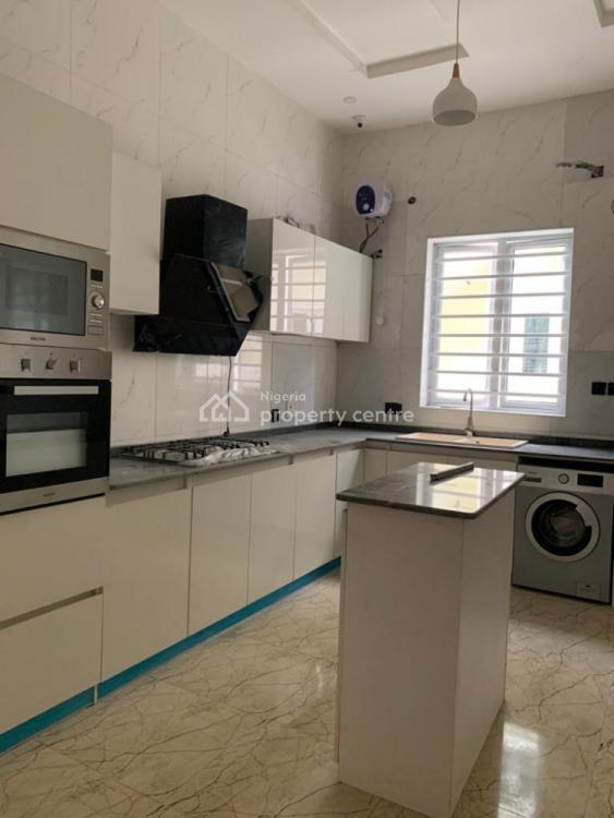 4 Bedroom Semi Detached Duplex with a Room Bq, Chevron, Lekki Phase 1, Lekki, Lagos, Semi-detached Duplex for Rent