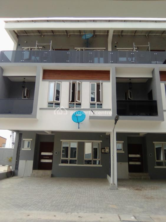 3 Bedroom Duplex in a Mini Court with Swimming Pool, Ikate, Lekki, Lagos, Terraced Duplex for Sale