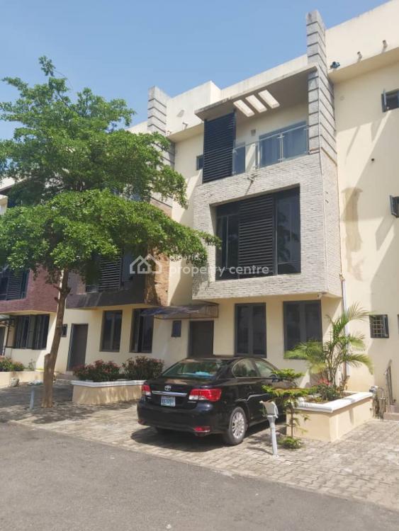 Luxury 4 Bedrooms Terraced Duplex Tastefully Finished, Guzape District, Abuja, Terraced Duplex for Sale