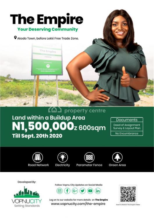 Mixed-used Land, The Empire Estate, Akodo, Lekki Free Trade Zone, Lekki, Lagos, Mixed-use Land for Sale