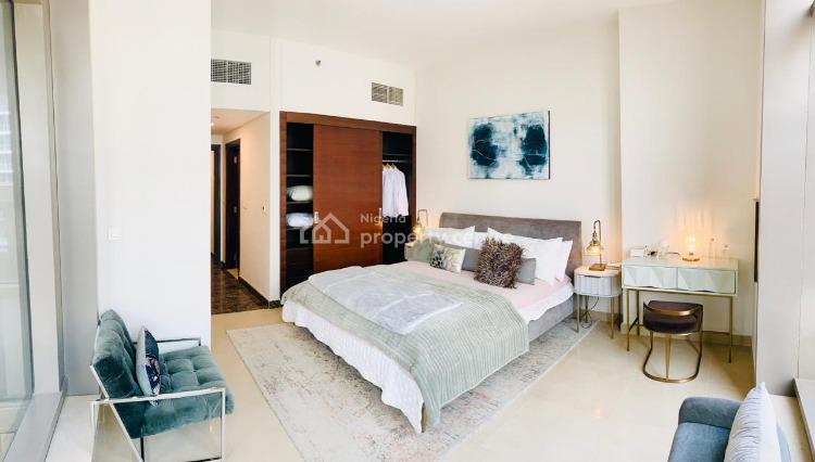 High Floored 1 Bedroom with Excellent View of Marina, Banana Island, Ikoyi, Lagos, Block of Flats for Sale