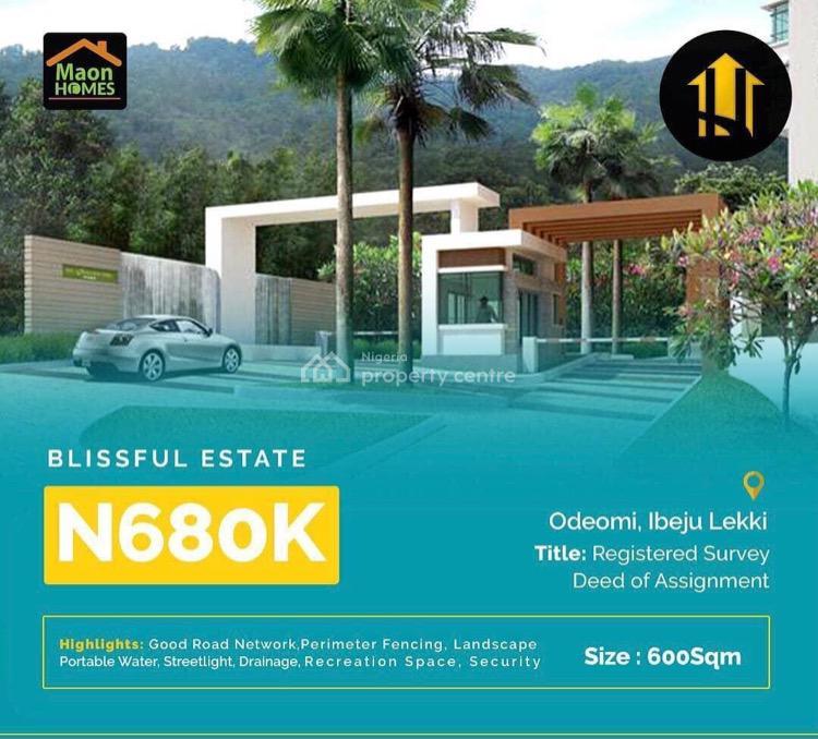 Blissful Estate, Blissful Estate, Ibeju Lekki, Lagos, Residential Land for Sale