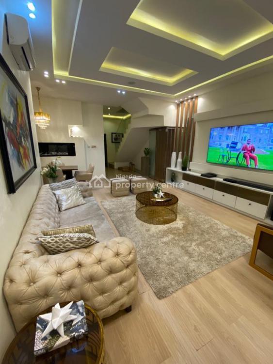 Beautifully Furnished Three Bedroom Apartment, Orchid Road, Ibeju Lekki, Lagos, Flat Short Let