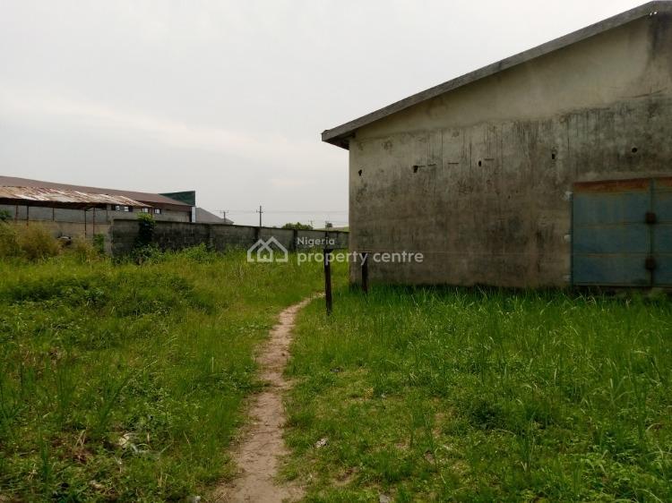 an Acre of Land with Warehouse, Along Lekki-epe Express Way, Lakowe, Ibeju Lekki, Lagos, Warehouse for Sale