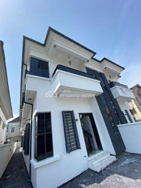 Luxury 5 Bedrooms Semi Detached Duplex with Bq, Osapa London, Osapa, Lekki, Lagos, Semi-detached Duplex for Sale