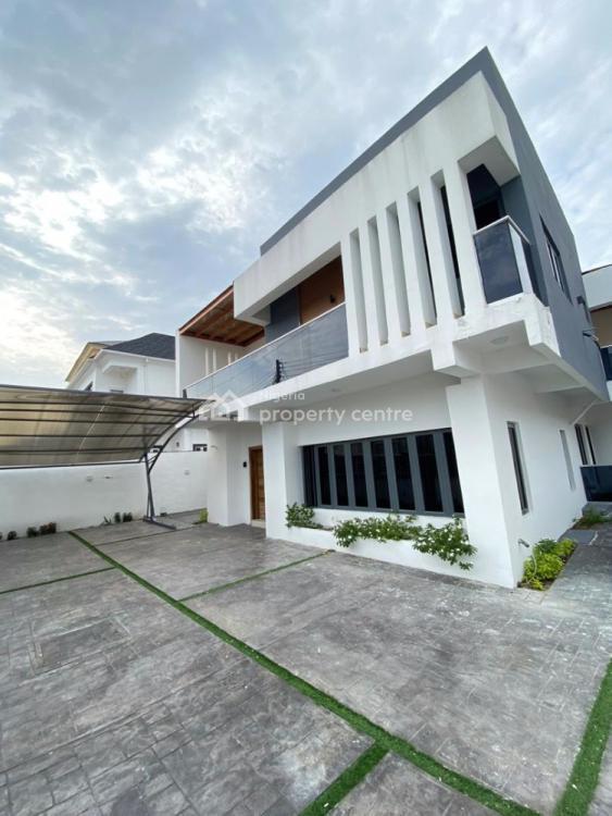 4 Bedrooms Luxury Fully Detached Duplex with Bq, Chevron, Lekki, Lagos, Detached Duplex for Sale