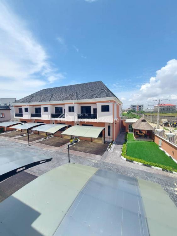 3 Bedroom Semi Detached Duplex with a Room Bq, 2nd Toll Gate, Lekki, Lagos, Detached Duplex for Sale