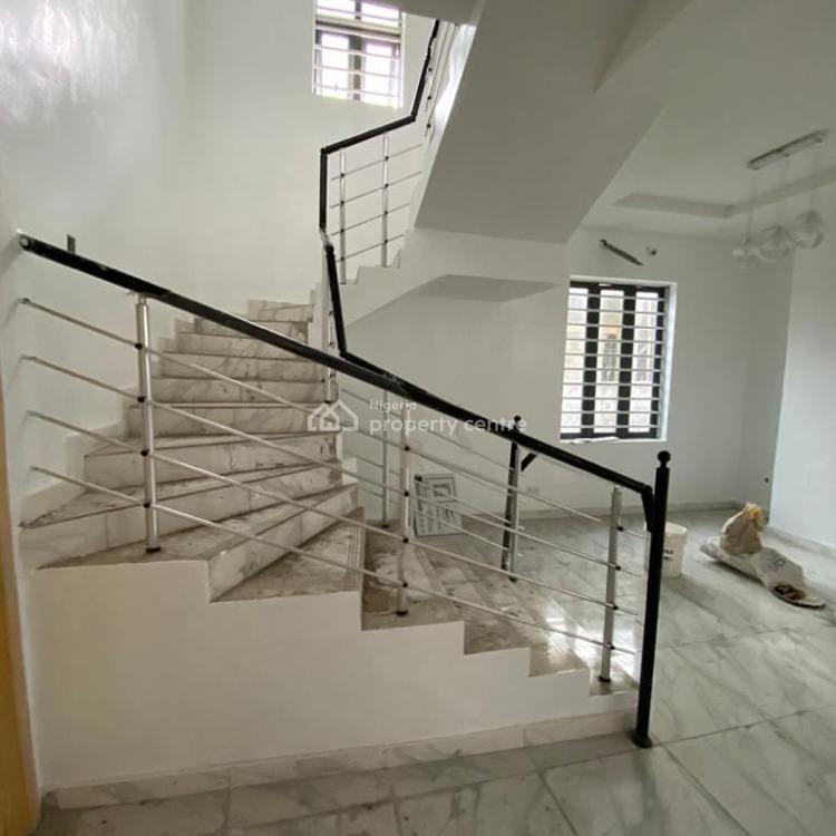Very Spacious  5 Bedrooms Fully Detached Duplex with Bq, Chevron, Lekki, Lagos, Detached Duplex for Sale
