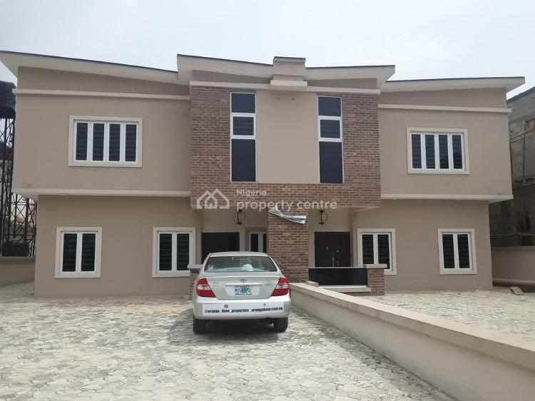 Spacious 4 Bedrooms Semi Detached Duplex with Bq in an Estate, Lekki County Home, Lekki Phase 2, Lekki, Lagos, Semi-detached Duplex for Sale