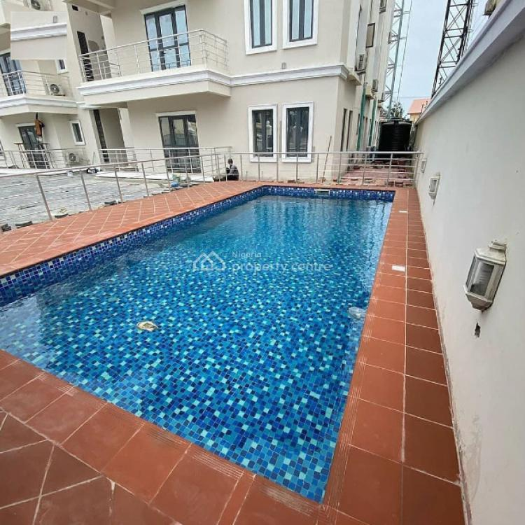 3 Bedroom Apartment with a Room Bq in a Fully Serviced Estate, Lekki Phase 1, Lekki, Lagos, Block of Flats for Sale