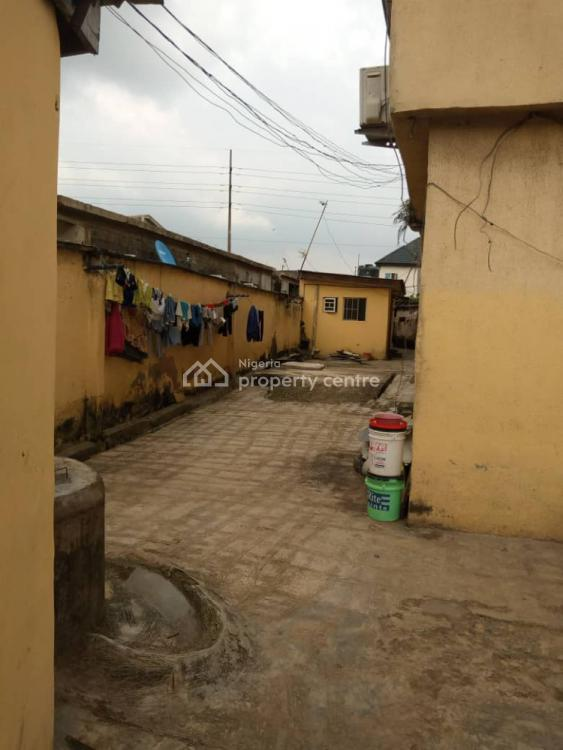 a Block of 4 Flats with 2 Rooms Bq on a Plot of Land, Oke Afa, Isolo, Lagos, Block of Flats for Sale